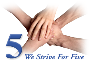 We Strive For Five